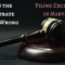 When the Magistrate Gets It Wrong: Filing Exceptions in Maryland