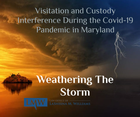 custody interference during covid-19 in Maryland